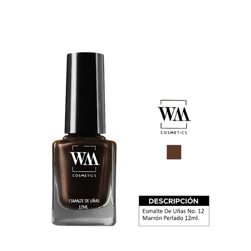 Esmalte Wm 12 Marron Perlado 12 Ml