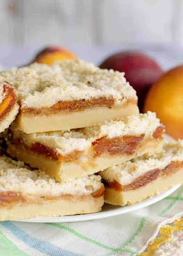 Mama Reed's Fried Peach Pie Bars - Southern Plate