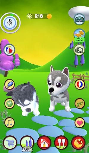 Talking Husky Dog 2.25 screenshots 22