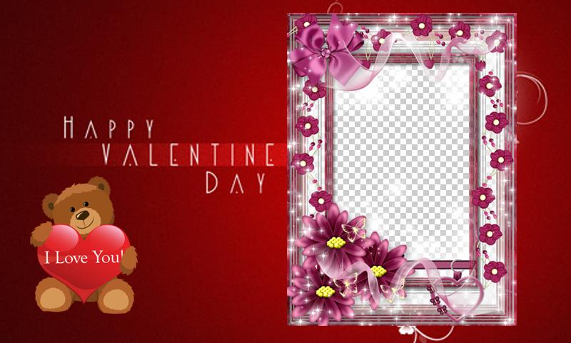 love you photo frames maker screenshot
