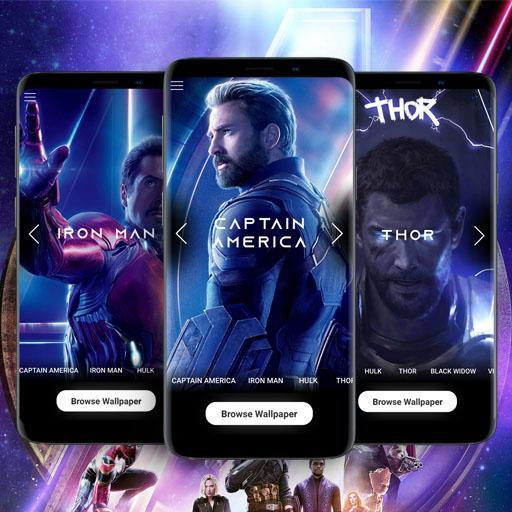 Baixar Superheroes Wallpaper HD 2K 4K 2019 para Android