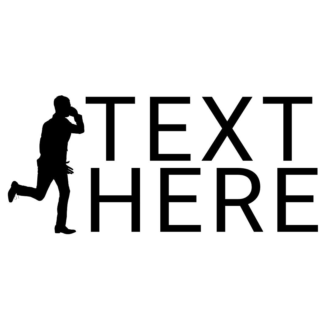 phone logo running