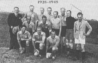 Photo: Harkstede 1e elftal 1948