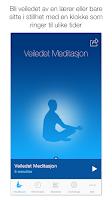 Screenshot of Mindfulness Appen NOR