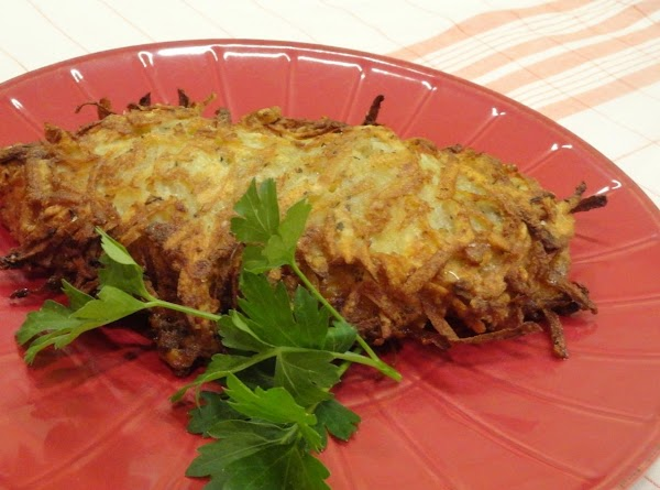Potato Encrusted Fish Recipe