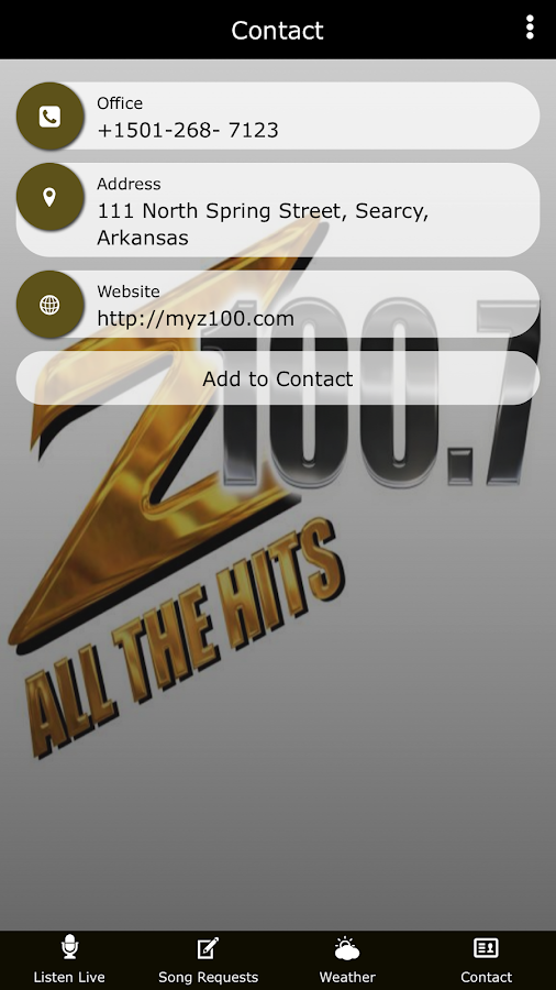 Z100.7 All The Hits App- screenshot