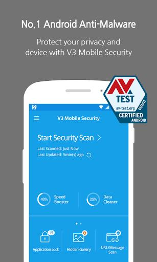 V3 Mobile Security - AntiMalware/Booster/Apps Lock 3.1.18.8 screenshots 1