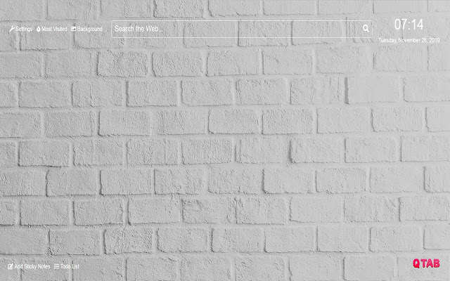 White Wallpapers HD New Tab