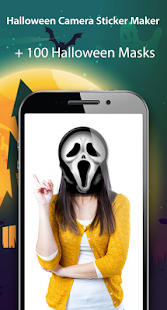 Halloween Camera Stickers & Frames - náhled