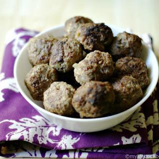 Paleo Middle Eastern Meatballs (Paleo Kibbeh)