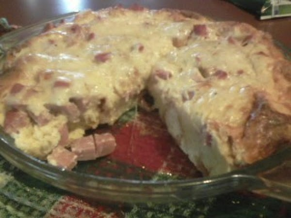 Ham And Cheese Croissant Casserole Recipe