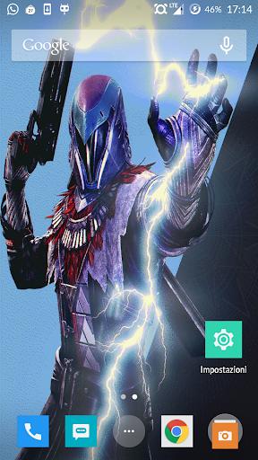 Destiny Warlock Live Wallpaper