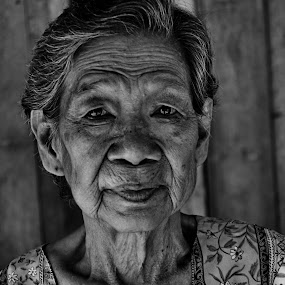 Monochrome by Kingkong Pang - People Portraits of Women ( pwc faces, face, people,  )