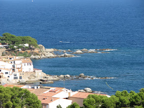 Photo: View of the Mediterranean from Calella de Parafrugell.