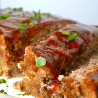 Homemade Meatloaf.