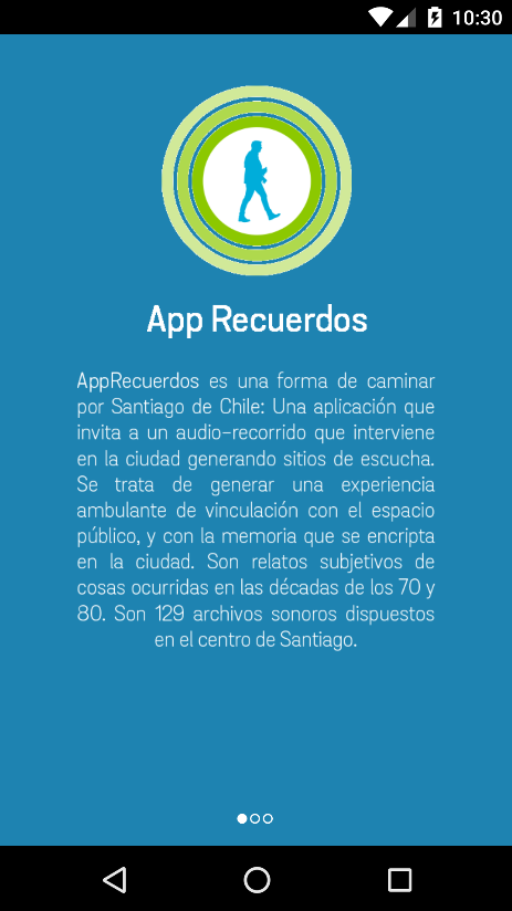 AppRecuerdos- screenshot