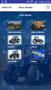 New Holland Ag. T6 range App screenshot 1