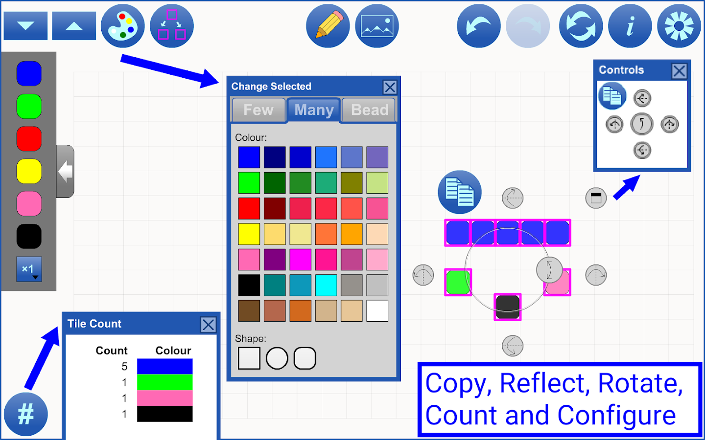 Colour Tiles by mathies- screenshot