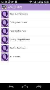Paper Quilling screenshot