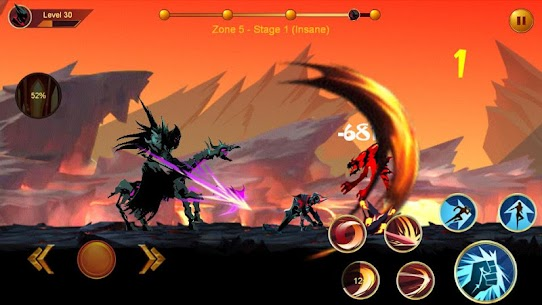 Shadow fighter 2: Shadow & ninja fighting games mod apk download for android 1