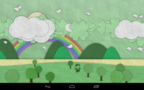 Paperland Pro Live Wallpaper Screenshot