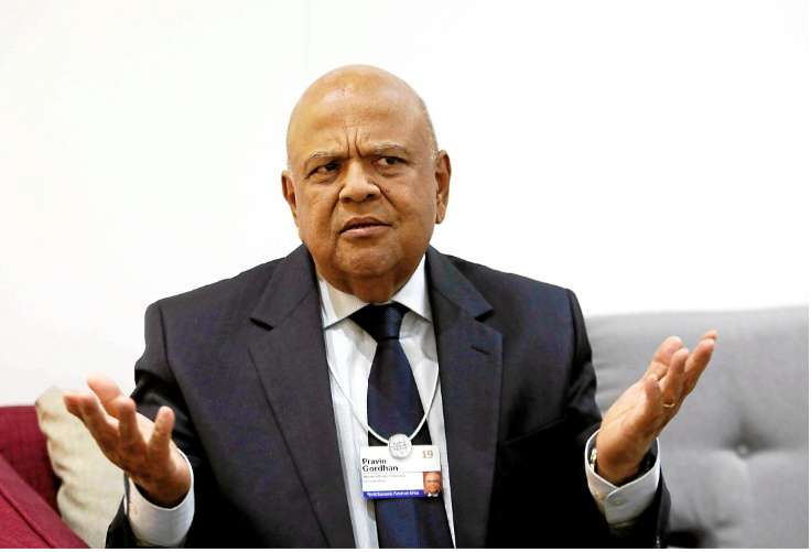 Gordhan was utterly out of order