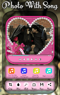 Love Video Maker With Song : Love Slideshow Maker - náhled