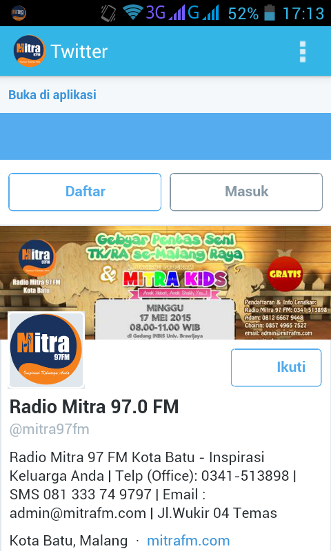 Radio Mitra 97 FM- screenshot