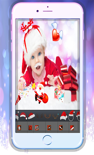 christmas stickers for picture