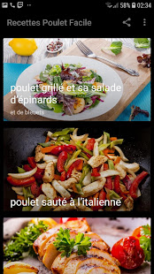 Download Recettes Poulet Facile For PC Windows and Mac apk screenshot 2