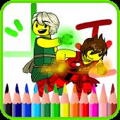 Coloring Ninja Game
