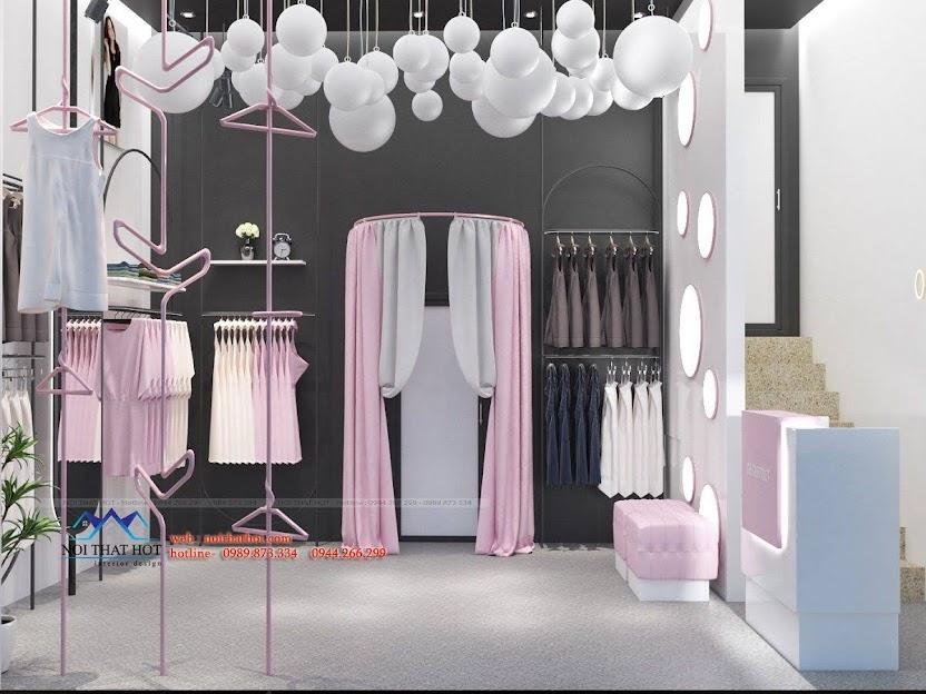 thiết kế shop đồ lót và đồ ngủ nội y 3