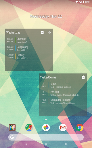 Timetable  screenshots 16