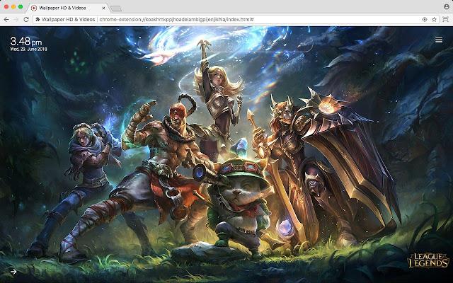League of Legends LoL HD Wallpaper