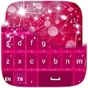 Pink Keyboard for Galaxy S4 icon