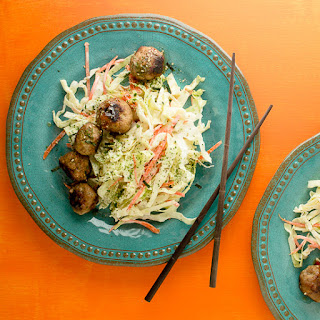 Chicken, Lemongrass and Ginger Meatballs.