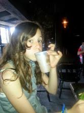 Photo: Drinking pumpkin juice in the Three Broomsticks