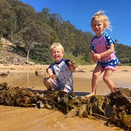 Seaweed by Geoffrey Wols - Babies & Children Children Candids ( children, boy,  )