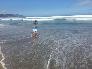 Photo: Beach time, at Maintencillo, Chile