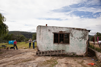 Photo: bathroom and storage building