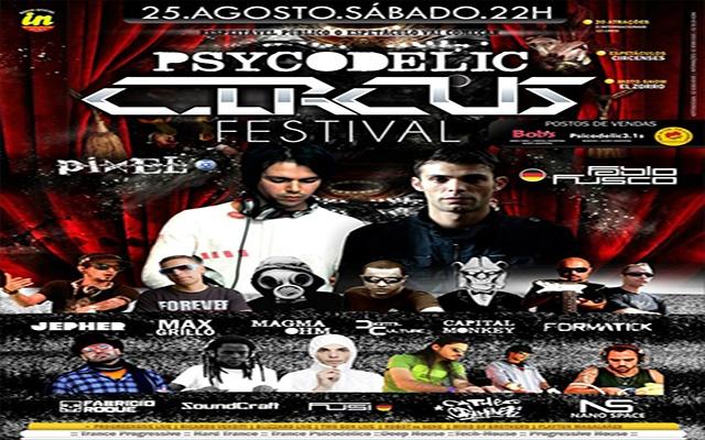 PSY CODELIC CIRCUS FESTIVAL - 2012