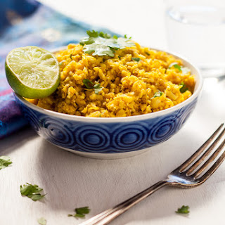 Indian Spiced Cauliflower Rice - Thermomix