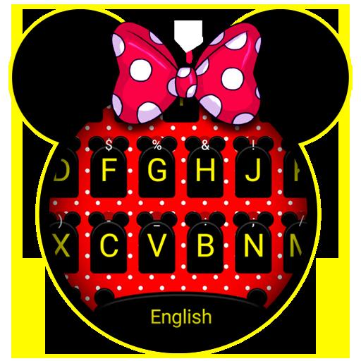 Cute Mickey Theme&Emoji Keyboard