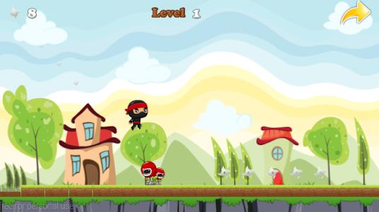 Ninja Jump Running screenshot 3