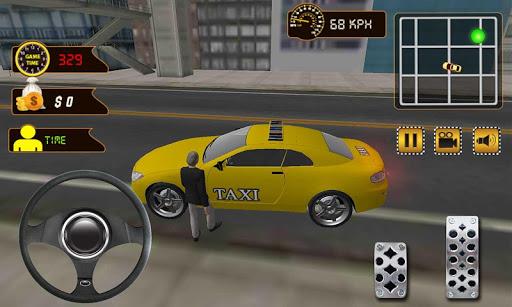 Crazy City Taxi Duty Driver