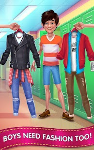 Download Fashion School Girl - Makeover & Dress Up Friends for PC and MAC