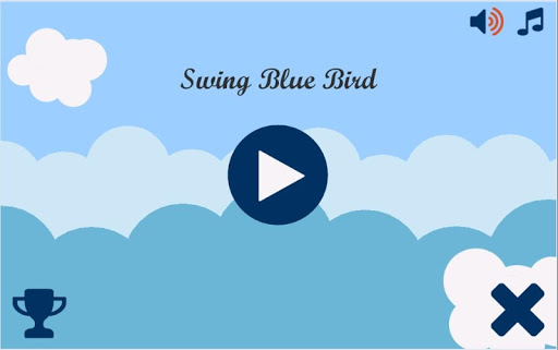 Swing Blue Bird