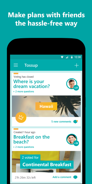 Tossup- screenshot