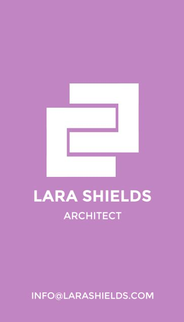 Shields Architect - Business Card Template