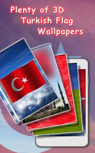 Download 3D Turkey flag Live wallpaper Google Play ...
